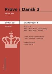 Læseforståelse 2 - Ny i Danmark