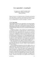 Grov uagtsomhed – et typebegreb - Juridisk Institut - Aarhus ...