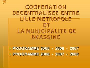 rehabilitation des tunnels d'adduction en eau potable a ... - Localiban