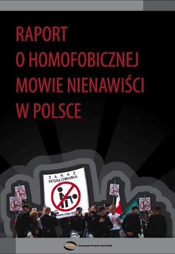Raport o homofobicznej mowie nienawiści w Polsce - Kampania ...