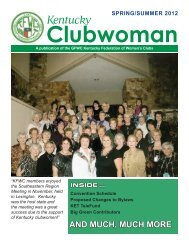 pages 1-5 Spring 2012.pdf - Kentucky Federation of Women's Clubs