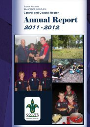 2011 - 2012 Annual Report - Central and Coastal Region