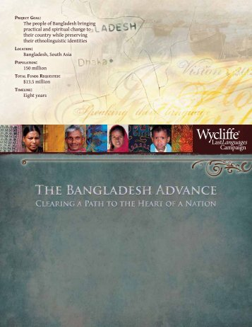 Bangladesh - Last Languages Campaign