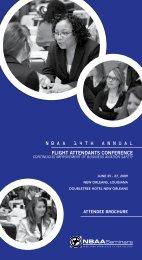 Review the Attendee Brochure (PDF, 969 KB) - NBAA