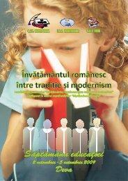 Învă ământul românesc între tradi ie și modernitate - SIP Hunedoara
