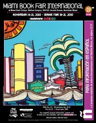 2010 Fairgoer's Guide - Miami Book Fair International