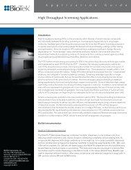 High Throughput Screening Applications - Enzo Life Sciences