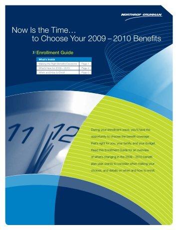 2009 Annual Enrollment Guide - Benefits Online