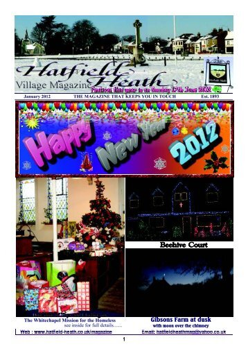 January2012 Edition - Hatfield Heath Village Magazine
