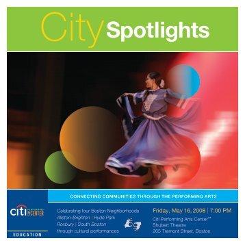 City Spotlights - Citi Performing Arts Center