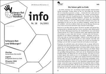 Infoheft 04_2003 - Schwarz-Rot