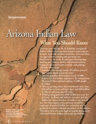 Arizona Indian Law: What You Should Know - Lawyers