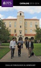 Download Catalog - Dallas Theological Seminary