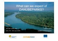 What to expect from DanubeParks (2837 KB)