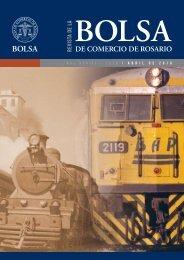 Revista de la Bolsa de Comercio de Rosario