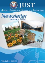 JUST Newsletter January Issue