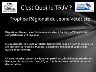TRJV BRETAGNE - Vélo Club Ruffiacois