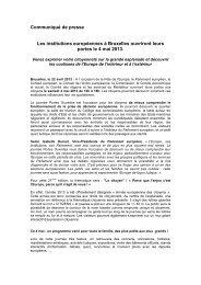 Journée Portes Ouvertes: le communiqué de presse - IPM