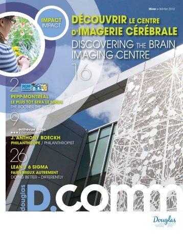d.comm - hiver 2013 - Institut universitaire en santé mentale Douglas