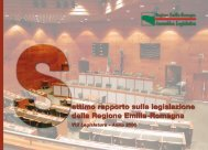 Settimo rapporto sulla legislazione della Regione Emilia-Romagna