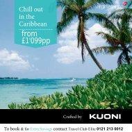 Kuoni Caribbean Special - Travel Club Elite