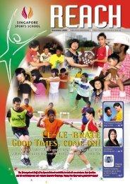 SSS Newsletter - Dec 2006 - Singapore Sports School