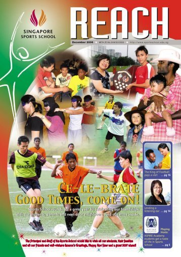 SSS Newsletter - Dec 2006 - Singapore Sports School