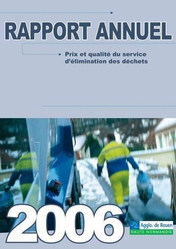 Prix et qualité du service d'élimination des déchets - La Crea