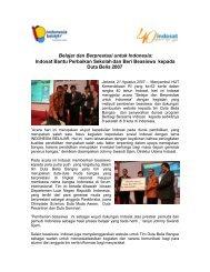 Belajar dan Berprestasi untuk Indonesia - Indosat