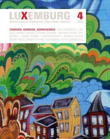 Download - Zeitschrift LuXemburg