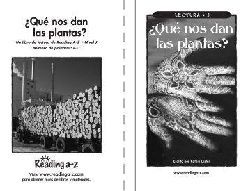 What Comes fr Plants.SP