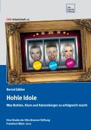 Hohle Idole - Otto Brenner Shop