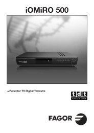 Manual de instalación - Fagor Electrónica