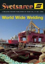 World Wide Welding - Esab