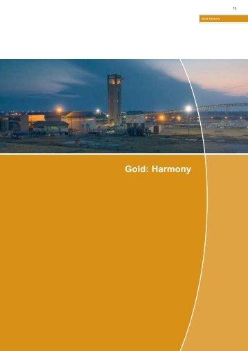 Gold: Harmony