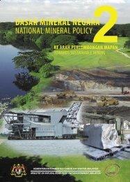 Dasar Mineral Negara 2 - NRE