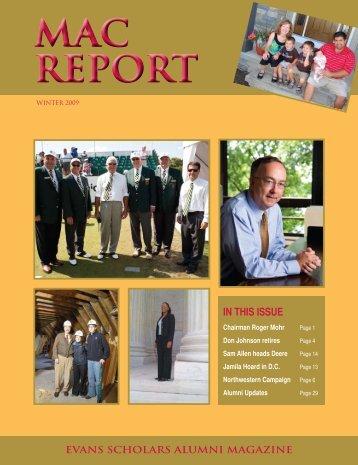 MAC REPORT MAC REPORT - Western Golf Association