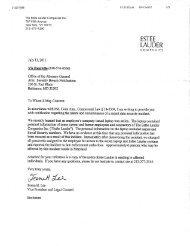 Estee Lauder Companies, Inc. - Maryland Attorney General