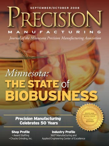 September / October - Minnesota Precision Manufacturing Association