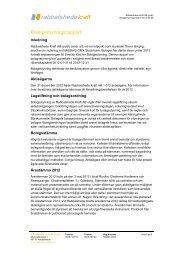 Bolagsstyrningsrapport 2012 - Rabbalshede Kraft
