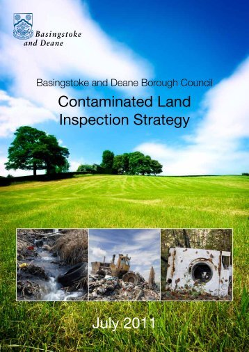 Contaminated Land Inspection Strategy - Basingstoke and Deane ...