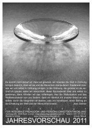 Jahresplakat 2011.qxp - Institut für integrale Pädagogik und ...
