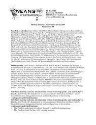 neansp.draft.summary.. - Northeast Aquatic Nuisance Species Panel