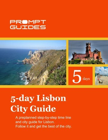 5-day Lisbon City Guide - Prompt Guides