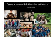 Unge - Høreforeningen