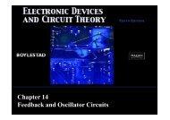 Chapter 14 Feedback and Oscillator Circuits - Webstaff.kmutt.ac.th