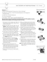 eSpring Ice Maker Refrigerator Hookup Kit Instal - Amway