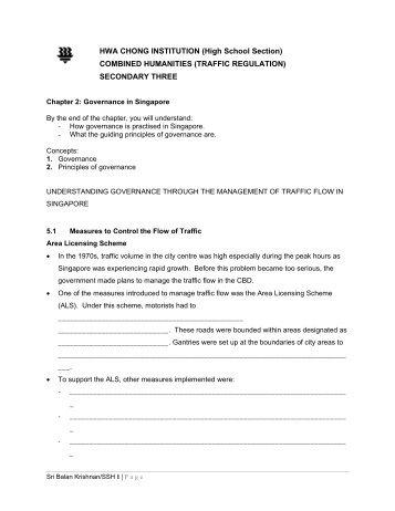 Traffic Regulation.pdf - Hwa Chong Institution