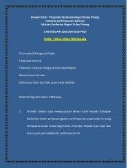 februari - Jabatan Kesihatan Negeri Pulau Pinang