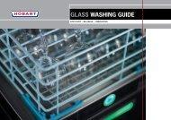 GLASS WASHING GUIDE - Hobart Food Equipment